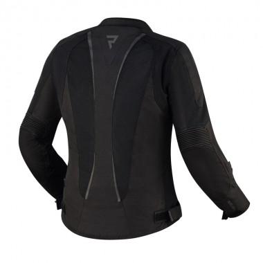 RUKKA AIR-ya damska tekstylna kurtka motocyklowa czarna z szarymi elementami