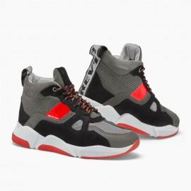 HJC FG-17 TALOS Kask motocyklowy integralny czarno czerwony