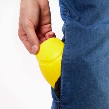 REBELHORN TRAMP-BOT Tekstylne buty do jazdy miejskiej czarne