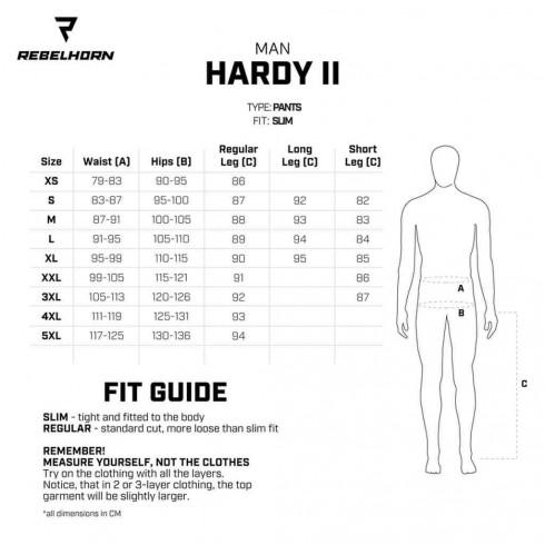 REBELHORN TRAMP BOT Tekstylne buty do jazdy miejskiej czarne