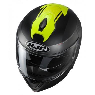 SCHUBERTH C4 PRO Kask motocyklowy szczękowy żółty fluo