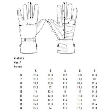 REBELHORN HIKER II LADY Damskie tekstylne spodnie motocyklowe z membraną REISSA czarno-szare