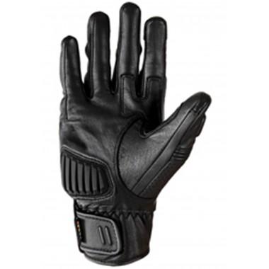 REBELHORN HIKER II Męskie tekstylne spodnie turystyczne z membraną czarno-szare