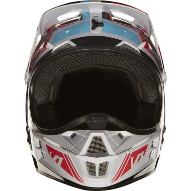 CABERG Riviera V3 Italia Kask otwarty biały/czerwony/zielony