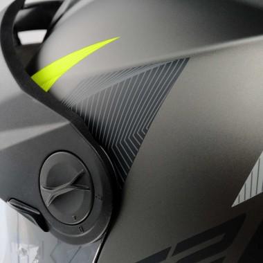 Rękawice Carbo Track EVO A203 czerwono białe