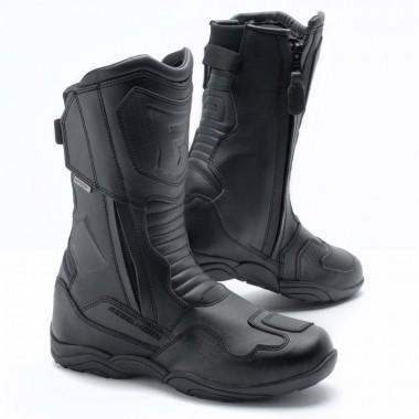 Rękawice skórzane Spidi Carbo 7 A210 czarno białe