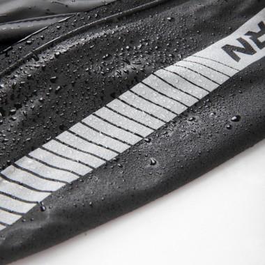 Damska bluza z kapturem SPIDI Hoodie Armor Lady T229 czarna z odblaskami
