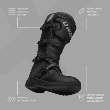 Q-Bag Raceline Magnetyczna torba na zbiornik paliwa, tankbag 12-23 litrów czarna