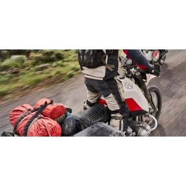 Q-Bag Roll Top Bag Yellow Torba przeciwdeszczowa podróżna na tył motocykla 65 litrów piaskowa