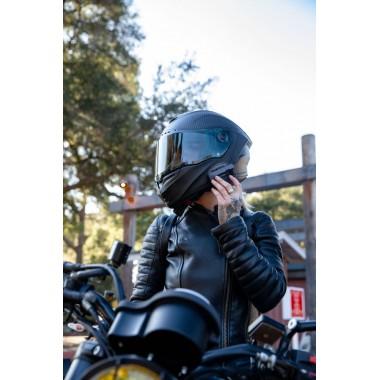 REV'IT GLIDE VINTAGE skórzana kurtka motocyklowa czarna