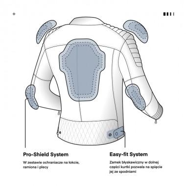 RHINO RACER 2 Kask motocyklowy integralny czarny
