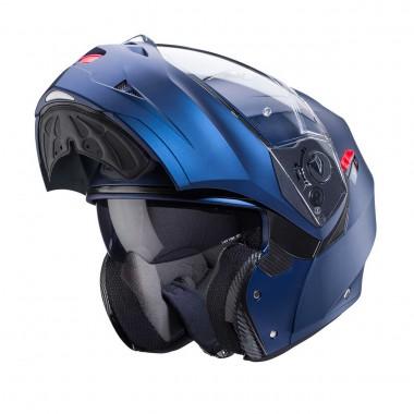 NEXX SX.60 VINTAGE 2 Czarny Skóra Kask Motocyklowy Otwarty