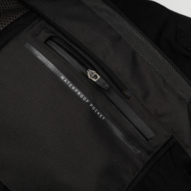 RUKKA START-R LADY Tekstylne Spodnie Motocyklowe Czarne