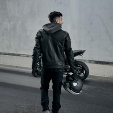 RUKKA SHIELD-R Tekstylna kurtka motocyklowa z membraną Gore-Tex czarna