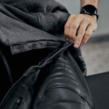 RUKKA RIMORINA PRO kurtka motocyklowa szara + ochraniacze