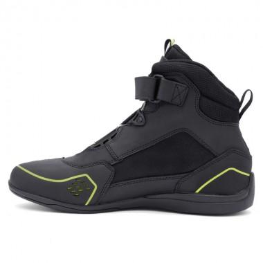 Skórzane rękawice motocyklowe REBELHORN ST Long męskie czarno/szare