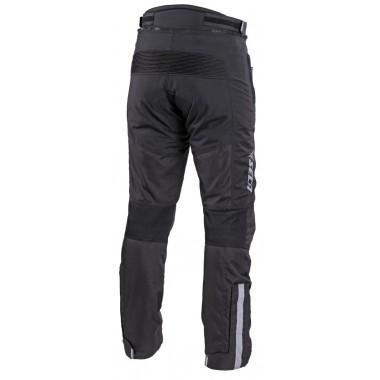 wytrzymałe niebieskie jeansy motocyklowe pmj caferacer