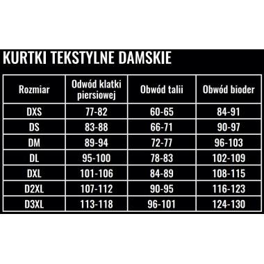 wytrzymałe szare jeansy motocyklowe pmj caferacer