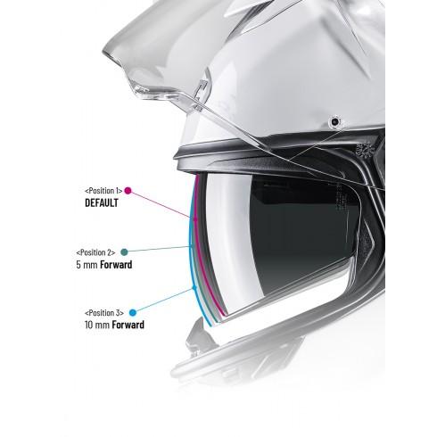 spodnie motocyklowe santiago bawełniane pmj czarne