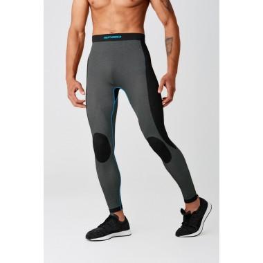 REBELHORN THAR Tekstylne spodnie motocyklowe czarne