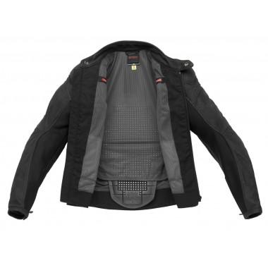 RUKKA SIMOT Tekstylna kurtka motocyklowa gore-tex czarna