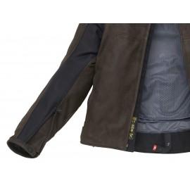 SPIDI Y140 021 Warrior 2 Wind Pro Skórzany kombinezon motocyklowy 021 czarno-czerwony
