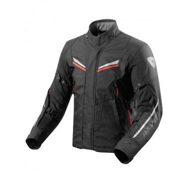 RICHA INFINITY Męska turystyczna kurtka motocyklowa szaro/zielona fluo