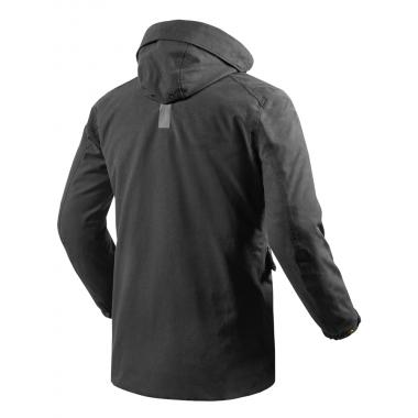 OZONE RAMONES Skórzana kurtka motocyklowa czarna