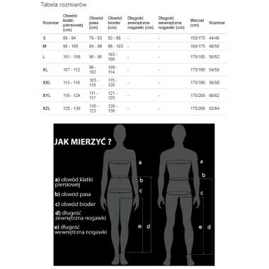 OZONE DAFT Skórzane spodnie motocyklowe czarne
