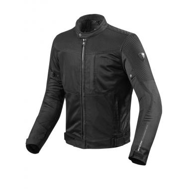 OZONE ROBBER LADY Damska tekstylna kurtka motocyklowa czarno- szara