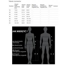 RICHA WIND ZERO PANTS Termoaktywne spodnie motocyklowe czarne