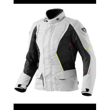 RICHA MUGELLO Skórzana kurtka motocyklowa czarna