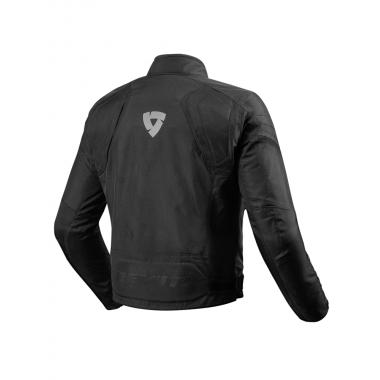 RICHA TG-2 Sportowa skórzana kurtka motocyklowa czarna