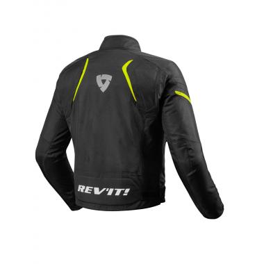 RICHA PHOENIX Męska skórzana kurtka motocyklowa czarna