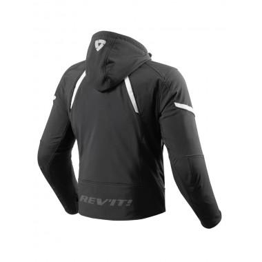 RICHA TRAFFIC GORE-TEX Skórzano-tekstylne rękawice motocyklowe czarne