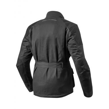 RICHA BASALT II Skórzane rękawice motocyklowe czarne