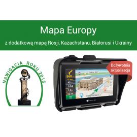 RICHA RAINWARRIOR TROUSERS Spodnie przeciwdeszczowe czarne