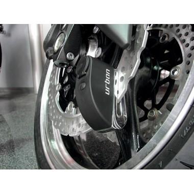RICHA STORMWIND Męska tekstylna kurtka motocyklowa szara/zielona fluo