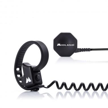 RICHA BOOMERANG Tekstylna kurtka motocyklowa czarna