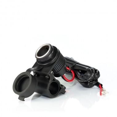 SPIDI U61 026 VTM Spodnie tekstylne na szelkach czarne