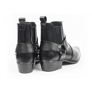 SPIDI Q20 026 New Naked Męskie spodnie skórzane motocyklowe czarne