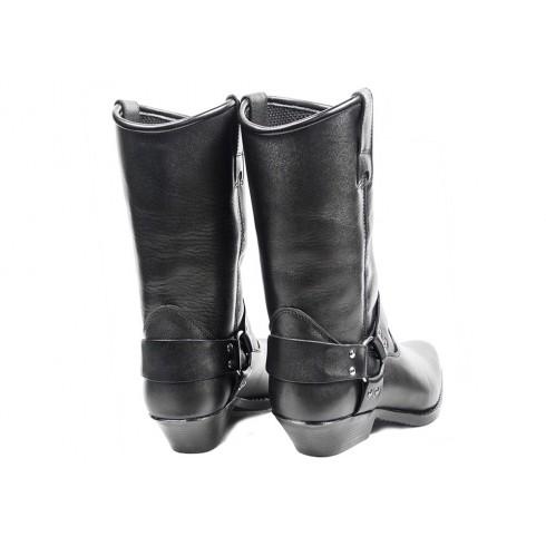 SPIDI Q25 026 Teker Lady Damskie skórzane spodnie motocyklowe czarne