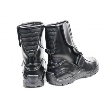 SPIDI J25 026 Mesh Leg Męskie spodnie tekstylne czarne