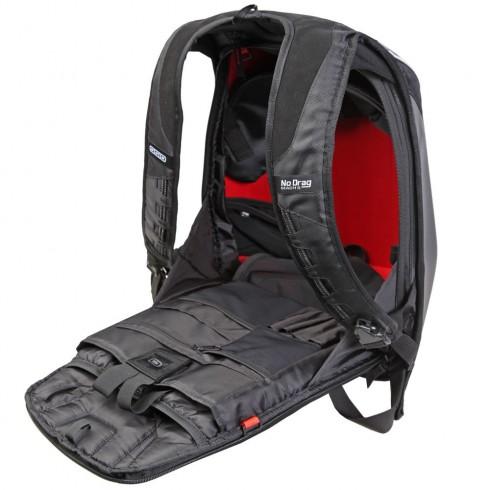 Damska skórzana kurtka motocyklowa z haftem RICHA ODESSA czarna