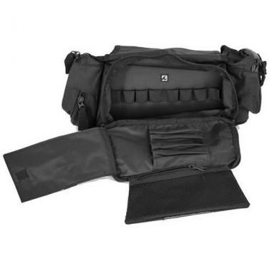 RICHA ROTAR Męska sportowa kurtka skórzano-tekstylna czarna