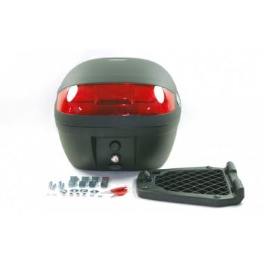 RICHA SAMOURAI Męska skórzana kurtka sportowa czarna