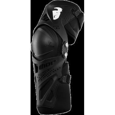 RICHA SPEAR Sportowa skórzana kurtka motocyklowa czarna