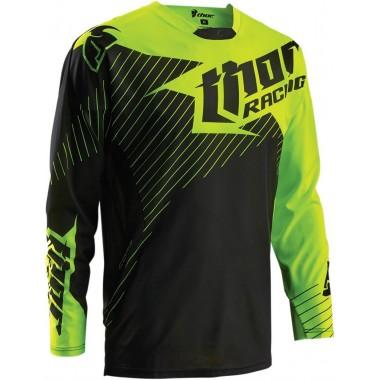 RICHA SPEAR Sportowa skórzana kurtka motocyklowa biała
