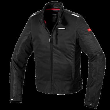 SPIDI A146 011 STS-R Rękawice motocyklowe do jazdy miejskiej czarno-białe