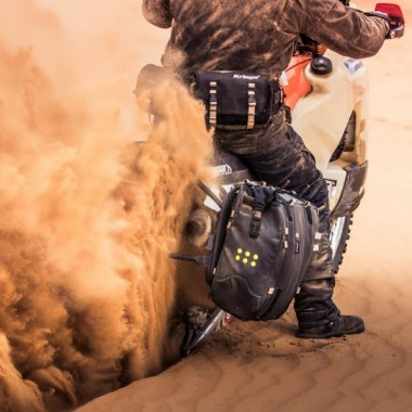 SPIDI B59K3 021 Flash R Skórzane rękawice turystyczne na lato czerwone